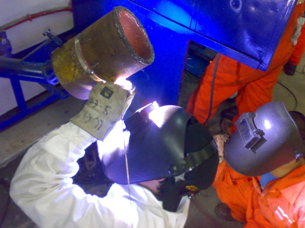 6G Pipe Welding Position