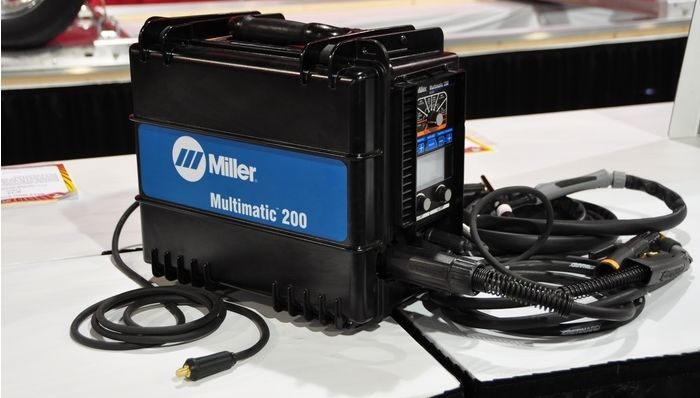Miller Multimatic 200 Mig Stick Welder Review Welding