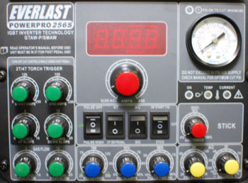 Control Panel (Front)
