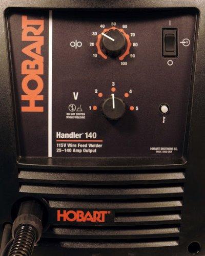 Hobart Welder Front Panel