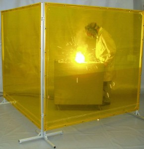 Transparent Welding Screen Curtains