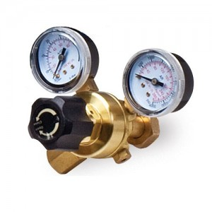 MIG welder gas regulator