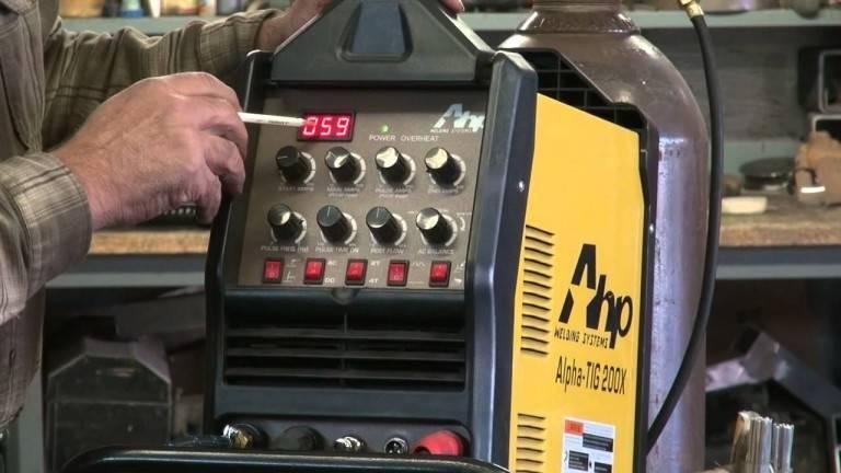 AHP AlphaTIG 200X Welder
