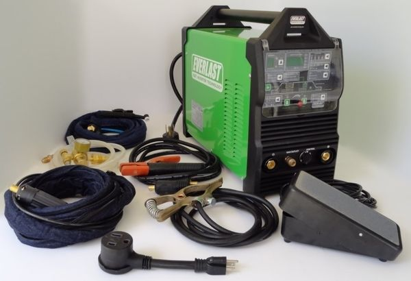 Lincoln Welders For Sale >> Everlast PowerTIG 250EX TIG Welder Review - Welding Helmet ...